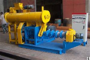Wet Type Fish Feed Extruder For Large Scale Feed Production
