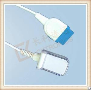 1-17ge 11 Pin Spo2 Adapter Cable Masimo Lncs Module