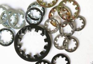 Stainless Steel Din6797j Internal Teeth Washer With Iso