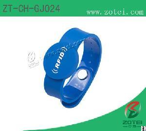 Rfid Silicone Wristband Tag Zt-ch-gj024