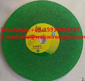 14inch 355 X2.5x25.4mm Green Color, Arasive Cutting Wheels