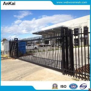 6m, 8m And 10m Long, 2.4m High Spear Top, Automatic Sliding Steel Gate
