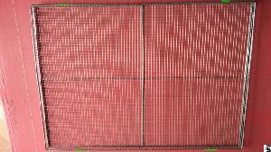 manufacturer stainless steel welded mesh tray