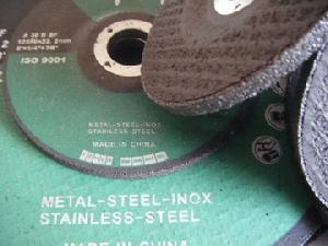 bonded abrasives grinding disc stainless steel inox