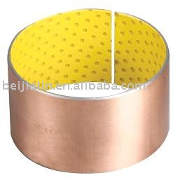 pom bearing lubricating bushing oilless du bush