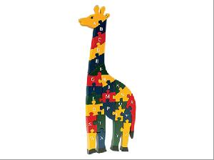 alphabet giraffe jigsaw puzzle