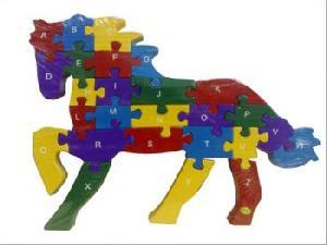 alphabet horse jigsaw puzzle