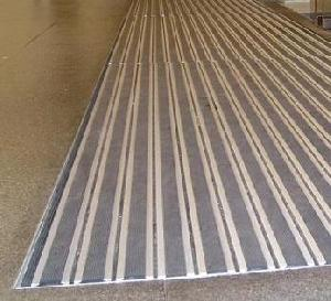 entrance matting heavy duty aluminum treads replaceable rubber carpet surfac