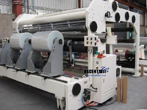 vp station rewinder slitting rewinding machine plastic film ttr slitter
