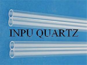 twin hole quartz tube