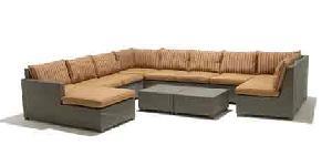 outdoor wicker sofa 05334