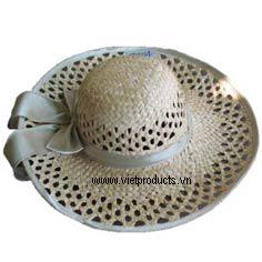 Palm Leaf Hat For Ladies