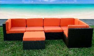 Vietnam Garden Wicker Sofa Set No. 05337