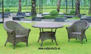 vietnam wicker garden table