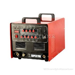 inverter ac dc pulse tig mma cut welder super200p