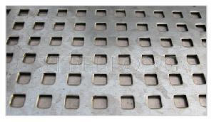 1 square hole plate
