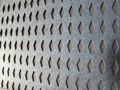 diamond hole perforated metal sheet