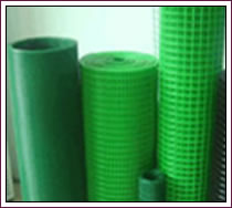 green coated welded wire mesh