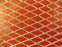 Metal Sheet Diamond Pattern