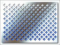 perforated metal board