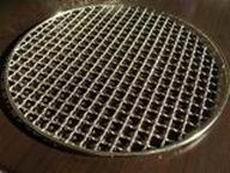 stainless steel round bbq grill netting