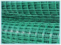 welded pvc coated mesh