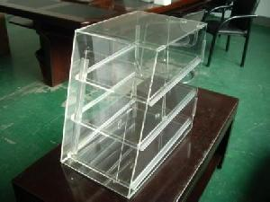 3 Tier Acrylic Pastry Display Case