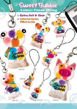 novelty bubble phone string gift