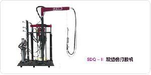 sdq ii component sealant extruder