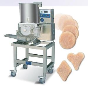 chicken nuggets forming machine