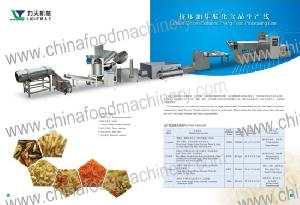 extruded chips line
