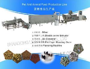 pet animal food processing line