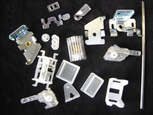 mini venetian blinds components