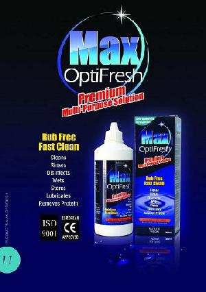 lens optifresh multipurpose solution