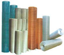 pvc coated welded mesh p