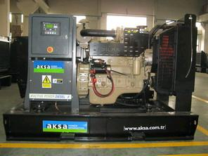 diesel generator cummins engine 110kva