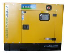 diesel generator 12kva canopy aksa engine