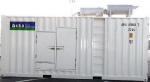 1000kva diesel generator powered cummins engine iso container