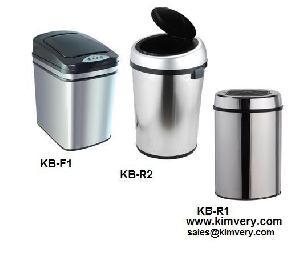 sensor inductive cap lid opening trash dustbin