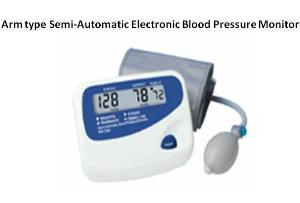 arm electronic blood pressure monitor mm 001