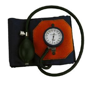 deluxe aneroid pocket blood pressure meter
