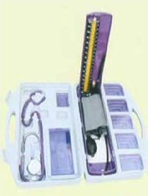 mercurial sphygmomanometer plastic box