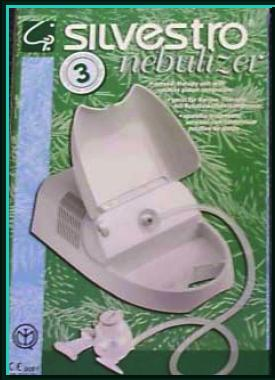 nebulizer silvestro piston motor green casing