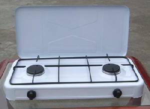 2 burner gas stove lid jk 002sb
