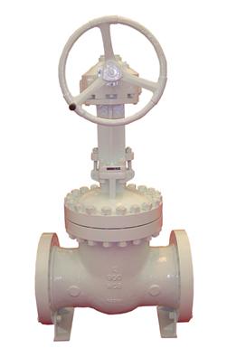 pressure gate valve