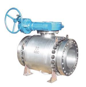 trunnion mounted ball valve