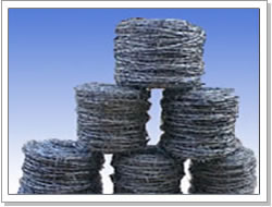 dipped galvanized barbed wire