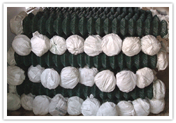 plastic coated chain link wire mesh fabric