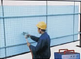 welded mesh pad sheet structural reinforced concrete panel
