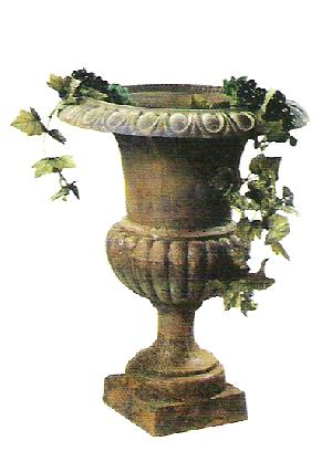 cast iron garden flower pot srhp 1017